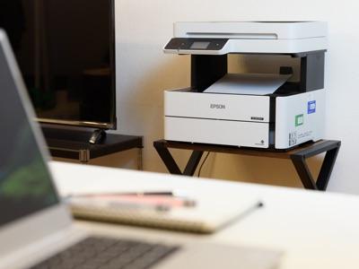 在宅ワークを改善。インクジェット複合機を使ったら、想像以上に生産性が上がった理由